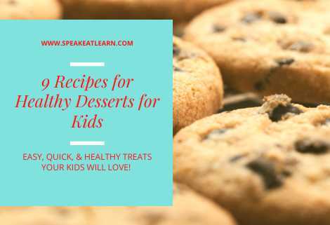 healthy recipes for desserts kids love